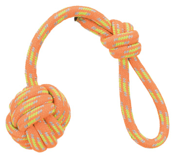 Playing rope with Woven-in Ball