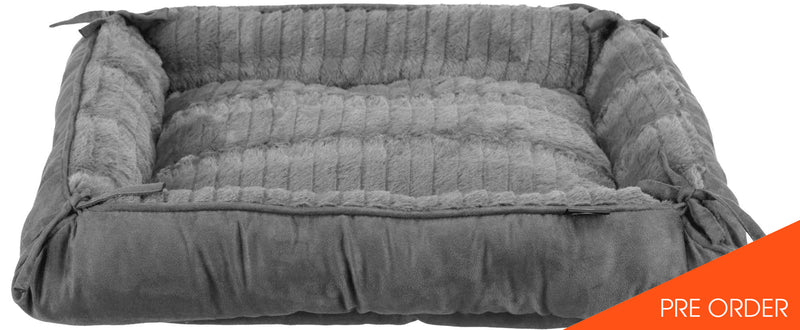 (PREORDER) Relax bed/cushion, 57 x 45 cm/70 x 60 cm, anthracite