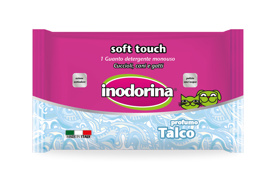 Inodorina Cleaning Gloves Soft Touch, Talc