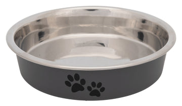 Stainless steel bowl for short-nosed breeds