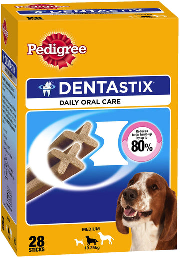 Pedigree DENTAstix 4 Pack (28 sticks) for Medium Dogs