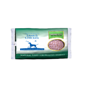 Nature's Menu, Dog Frozen Lamb & Chicken Minced, 2 Kg