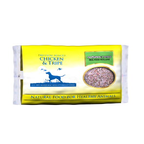 Nature's Menu, Dog Frozen Chicken & Tripe Minced, 2 Kg