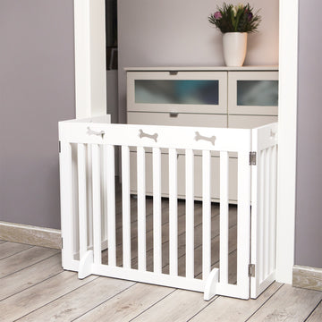 Dog Barrier, White