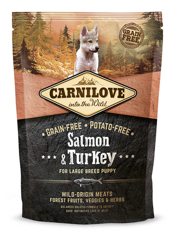 Carnilove Wild Large Puppy Salmon & Turkey