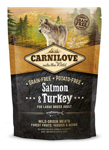 Carnilove Wild Adult Large Salmon & Turkey