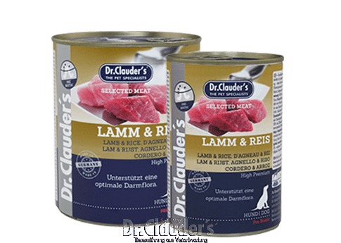 Dr. Clauder's Selected Meat - Lamb & Rice