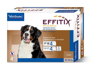 Effitix Spot on, X - Large dogs 40 - 60 Kgs