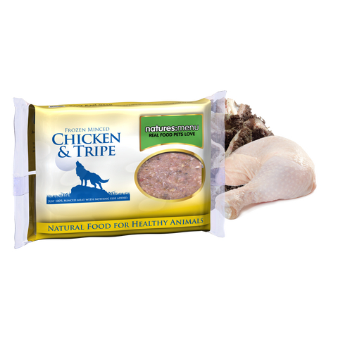 Natures Menu Chicken & Tripe Dinner Complete,400g