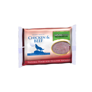 Nature's Menu, Dog Frozen Chicken & Beef, 400g