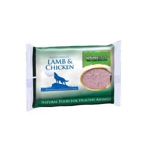Nature's Menu, Dog Frozen Lamb & Chicken, 400g
