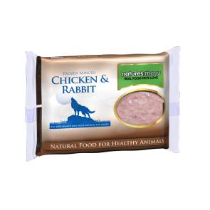 Nature's Menu, Dog Frozen Rabbit & Chicken, 400g, dog