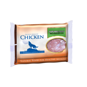 Nature's Menu, Dog Frozen Chicken, 400g