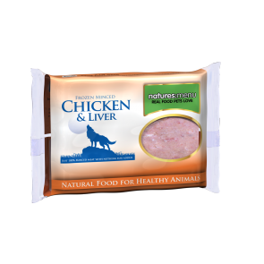 Nature's Menu, Dog Frozen Chicken & Liver, 400g