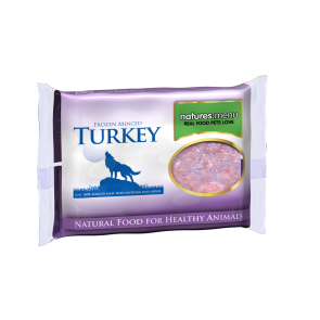 Nature's Menu, Dog Frozen Turkey , 400g