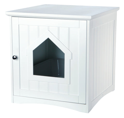 Cat House For Cat Toilets, White