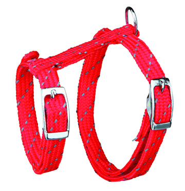 Cat Harness with Leash, Reflecting, Nylon