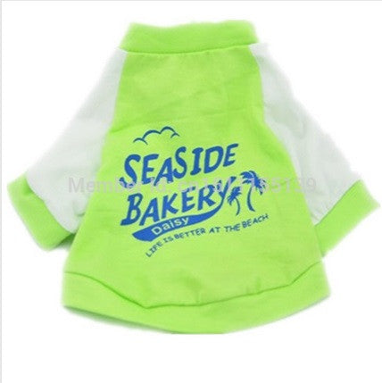 "Dog Tshirt ""Seaside Bakery"""