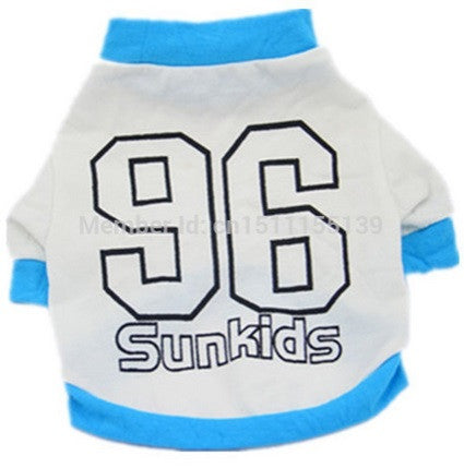 "Dog Tshirt ""96 Sunkids"" White"