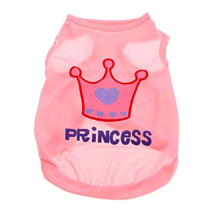 "Dog Tshirt ""Princess"""