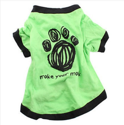 "Dog Tshirt ""Make Your Mark"""