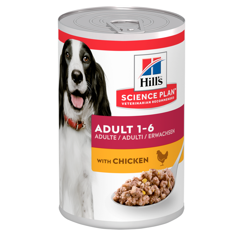 Hill's Science Plan Adult 1-6 Advanced Fitness Medium Dog Food Savoury Chicken 370G CANS