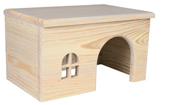 Wooden House For Rabbits
