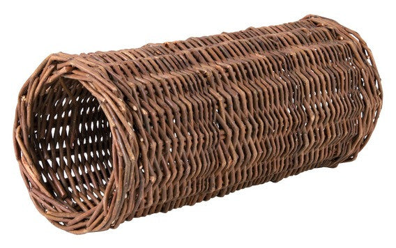 Wicker Tunnel For Guinea Pigs