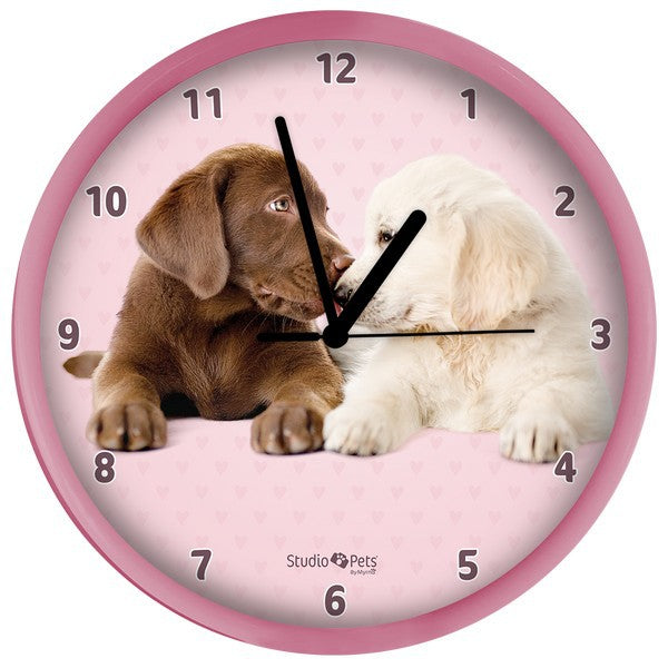 Clocks - Studio pets by Myrna