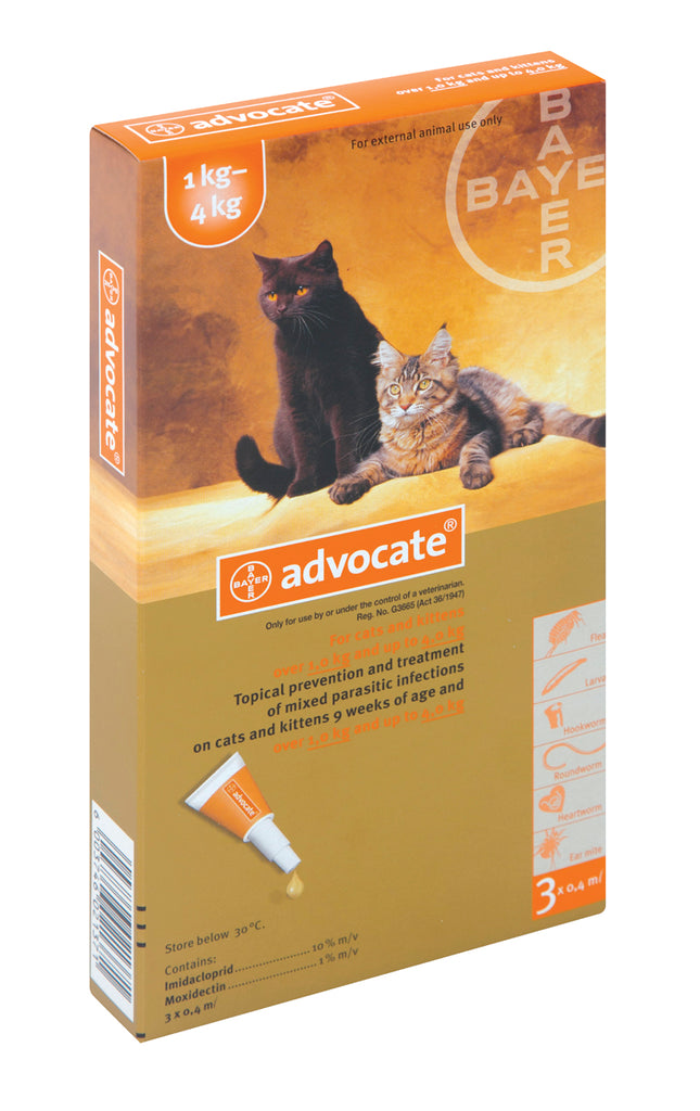 Advocate for Cats 1 - 4 Kgs