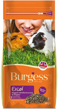 Burgess Excel Guinea Pig Nuggets with oregano