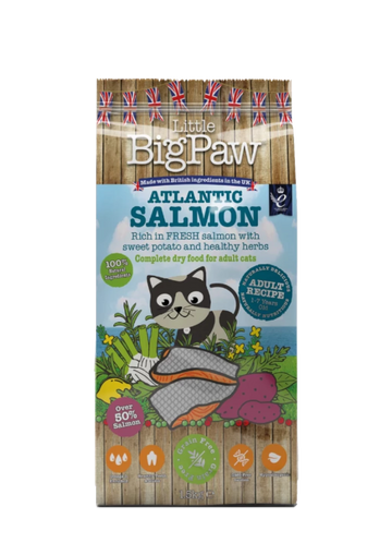 Little Big Paw Adult cat Atlantic Salmon, 1.5 Kgs
