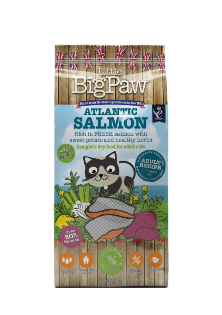 Little Big Paw Adult cat Atlantic Salmon
