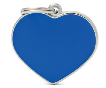 Blue Big Heart