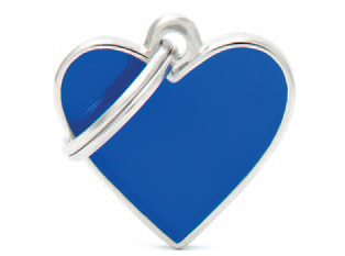 Blue Small Heart
