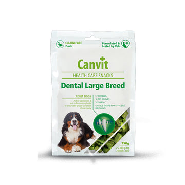 Canvit snack Dental Large Breed dog, 200g