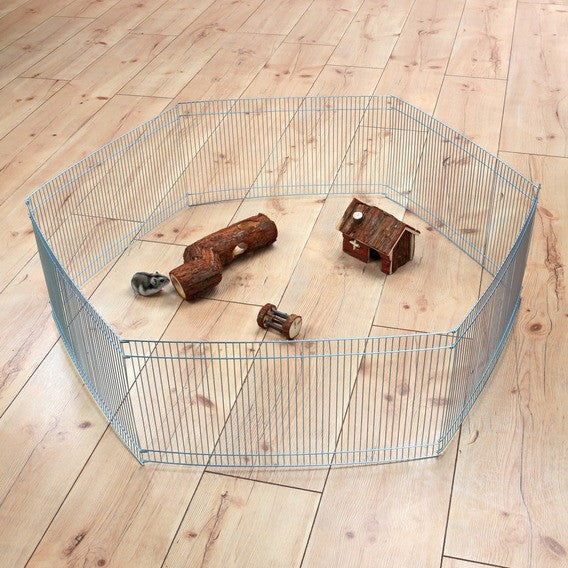 Indoor Run for small animals, galvanized