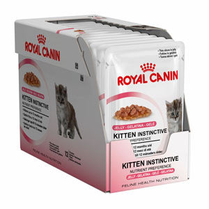 Royal Canin Kitten instinctive in Jelly, Pouches
