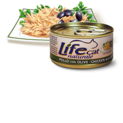 Life Cat Chicken/Olives, 70g