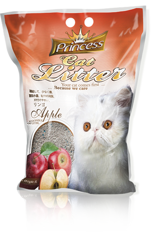Princess Scented Cat Litter Apple