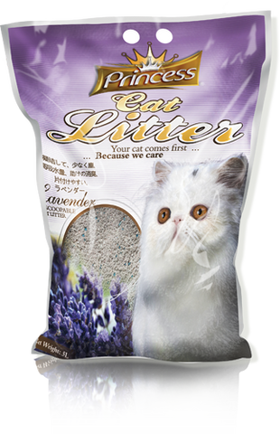 Princess Scented Cat Litter Lavander