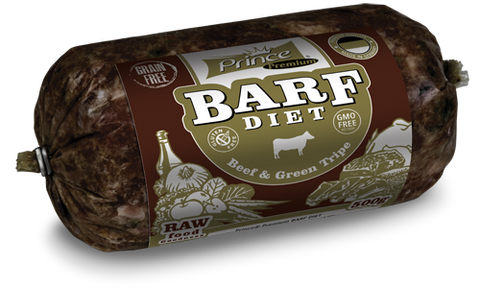 Prince Barf Diet Beef & Green Tripe
