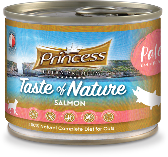 Princess Taste of Nature, Salmon 200g