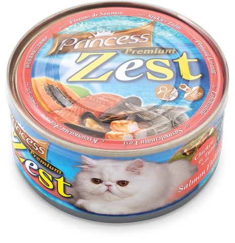 Princess Premium Zest Chicken/Tuna/Salmon 170g