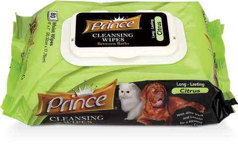 Prince Citrus Wipes