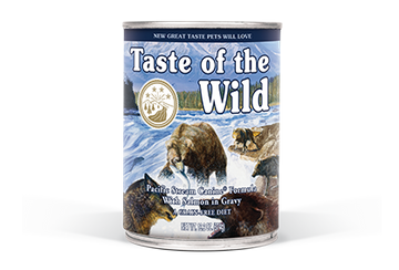 Taste of the wild Pacific Stream Canine® Formula with Salmon in Gravy, 390g