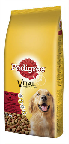 Pedigree Adult Beef & Vegetables - 15 Kgs
