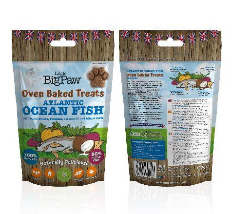 Little Big Paw - Oven Baked Atlantic Ocean Fish Treats for Dogs