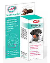 M&C Teething gel dog