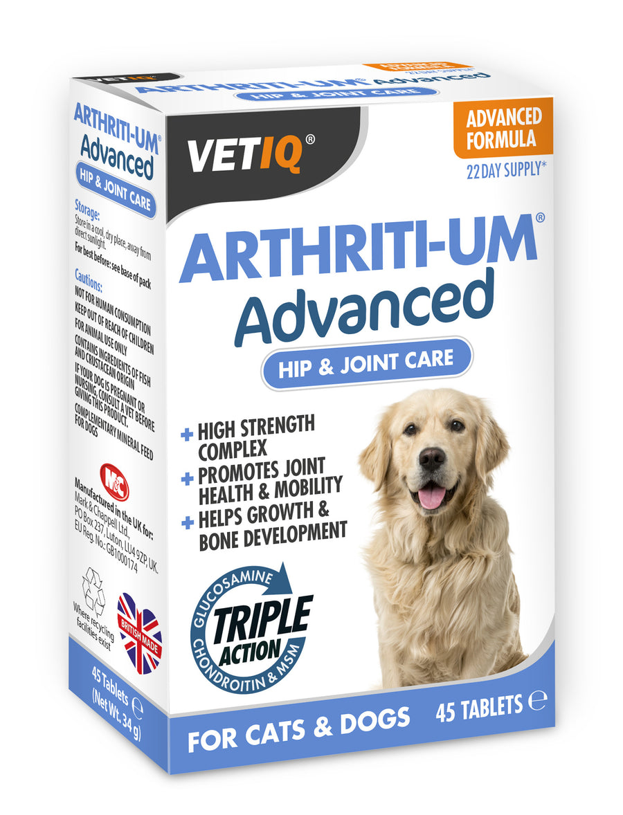 Arthriti-UM Advanced Triple Action! -  Tablets Dog (45tabs)